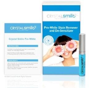 Crystal Smile Zahnweiss-Streifen -2